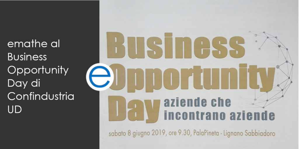 emathe partecipa al business opportunity day