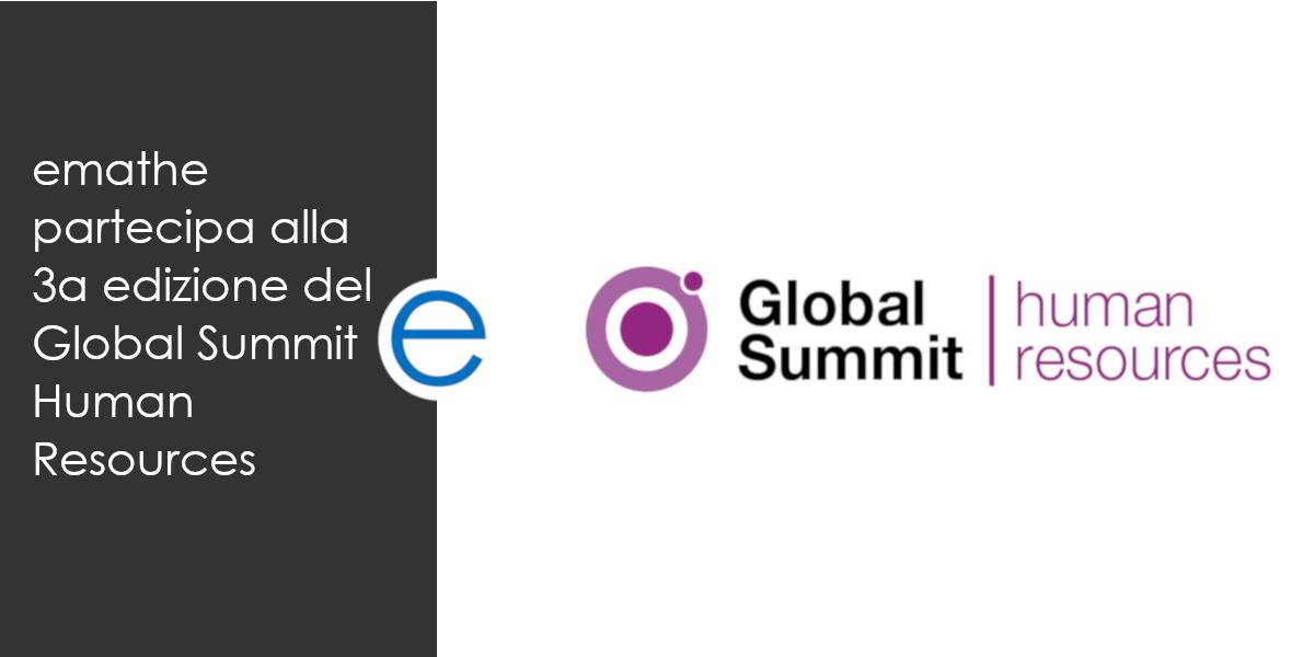 emathe partecipa al 3° Global Summit Human Resources