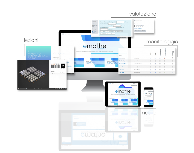 Piattaforma emathe Digital Learning