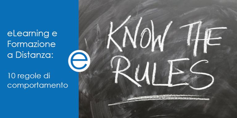 blog emathe eLearning e Formazione a Distanza: 10 regole