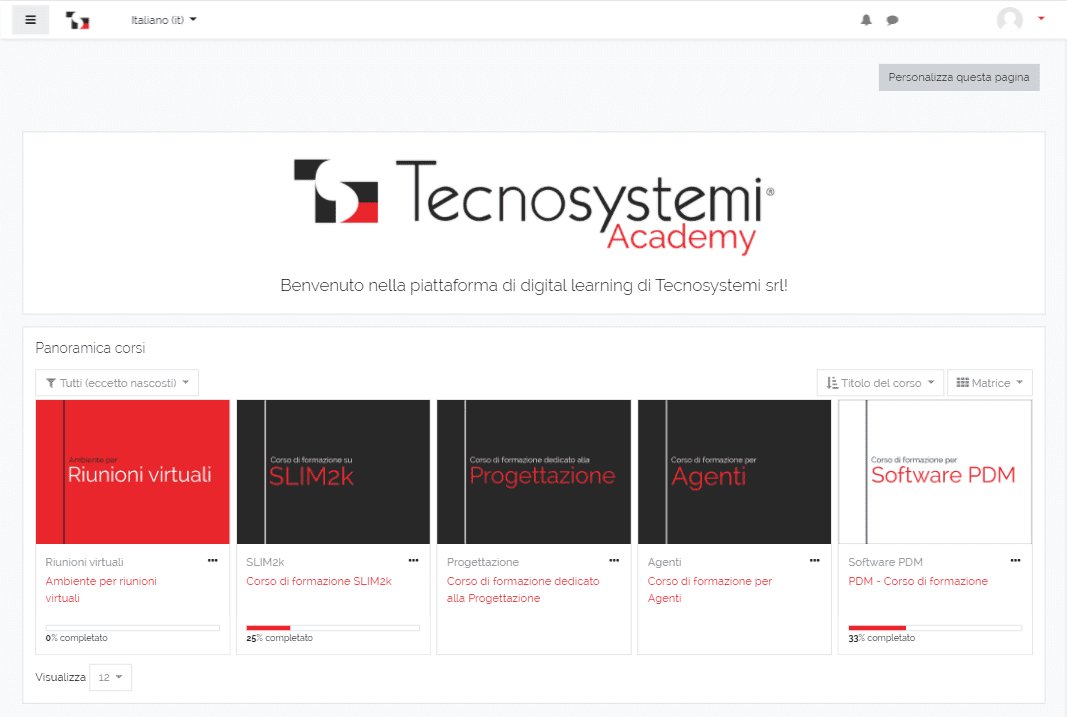 Tecnosystemi Academy