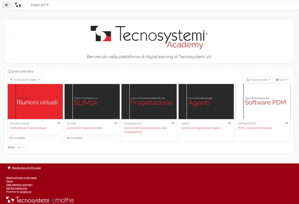 Tecnosystemi academy home