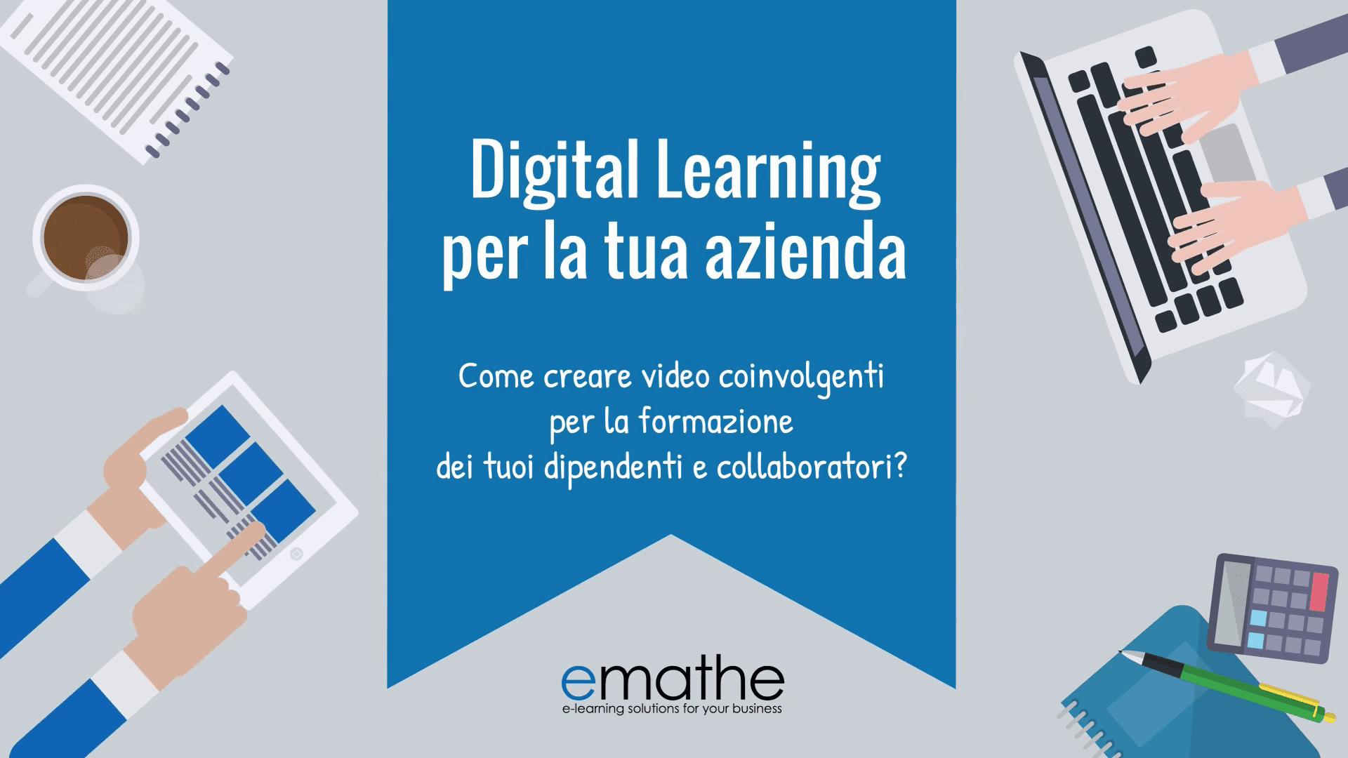 Digital Learning per la tua azienda