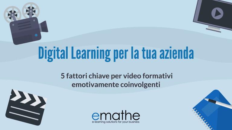 5 fattori chiave per video formativi emotivamente coinvolgenti